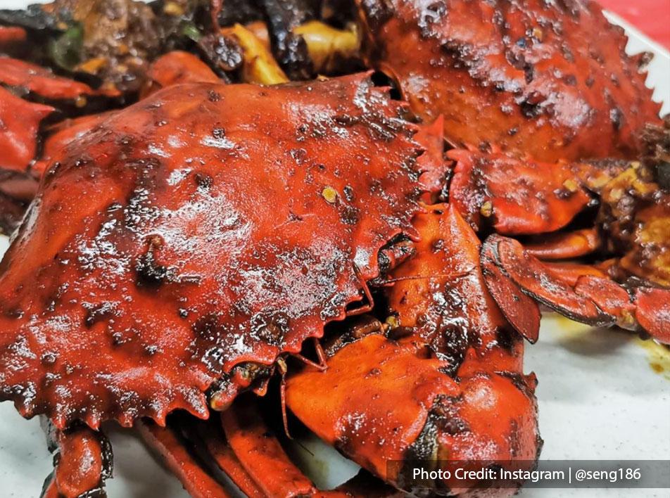 Hao Kee Seafood Restaurant-Menu - Roasted Crab   Port Dickson