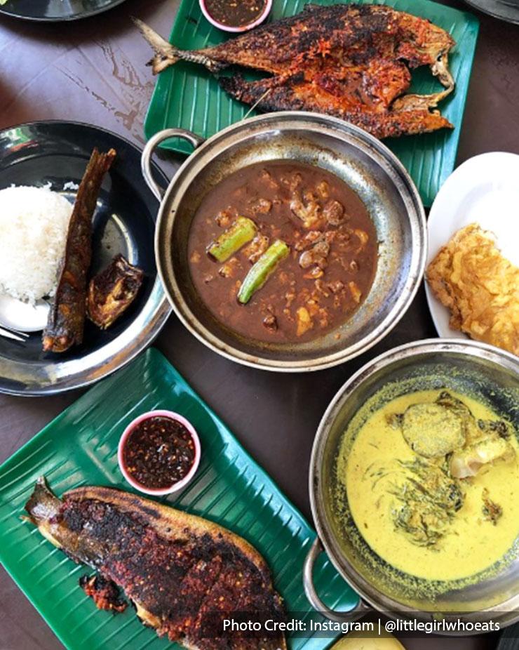 Malaysia port dickson local food restaurant warung salai ikan bakar