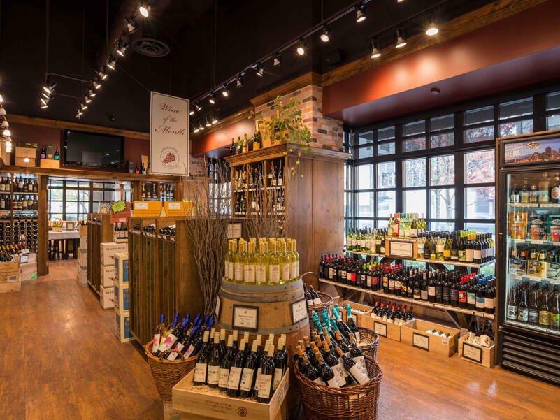 wine merchant  Sutton Place Vancouver