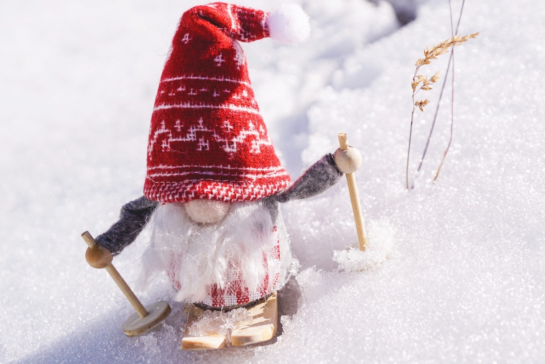 gnome on snow