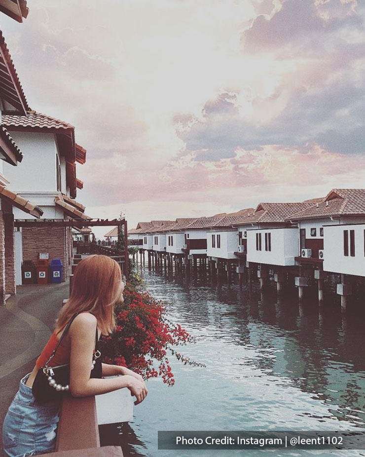 ocean view at villas and suites in Grand Lexis Port Dickson