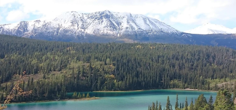 Emerald Lake near Whitehorse