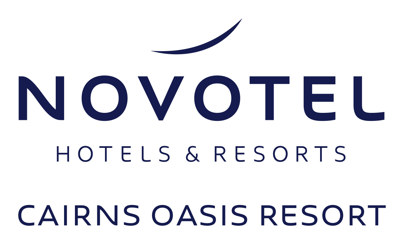 Hotel name at Novotel Cairns Oasis