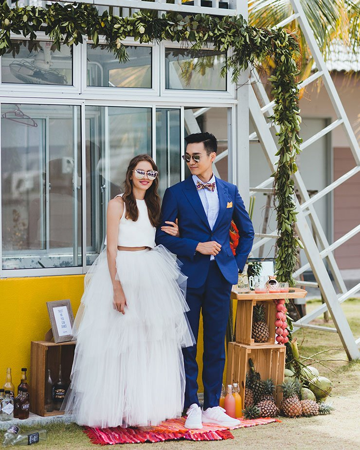 Simple and beautiful moments at your dream wedding and honeymoon at Lexis Beach Resort