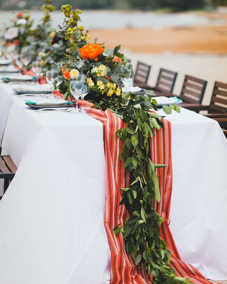 Lexis Hotel Group provides wedding decoration by the beach