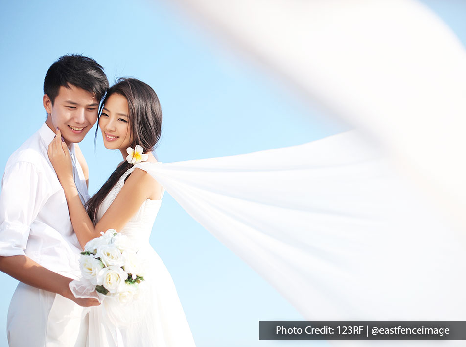 Best place to have a dream wedding in Malaysia is by Malaysia's beach