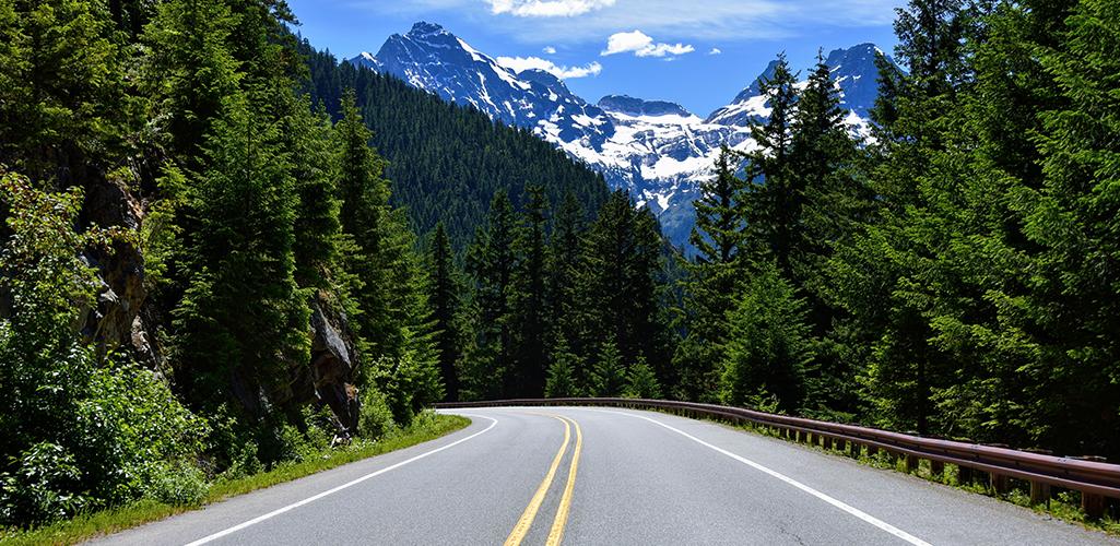 Cascade Loop road
