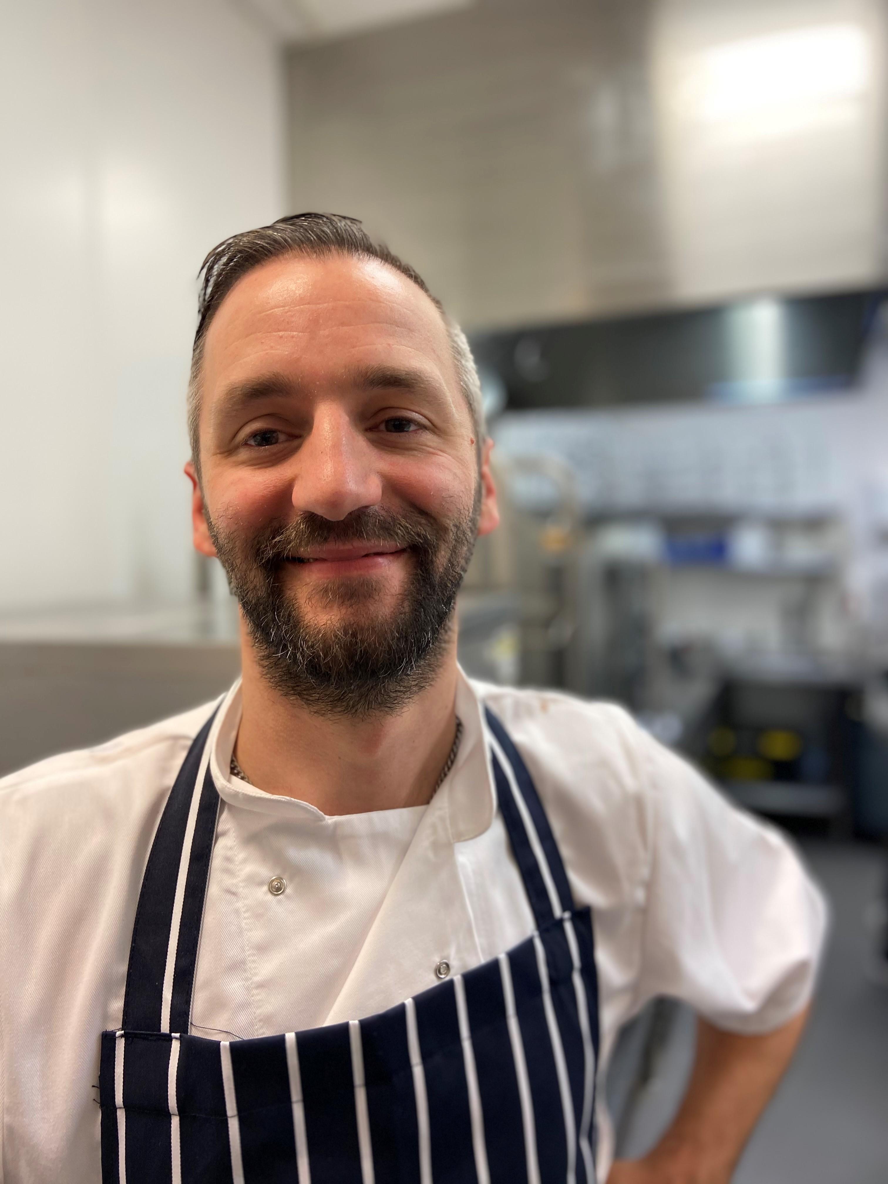 Ian Elson head chef at The Cornwall 2021