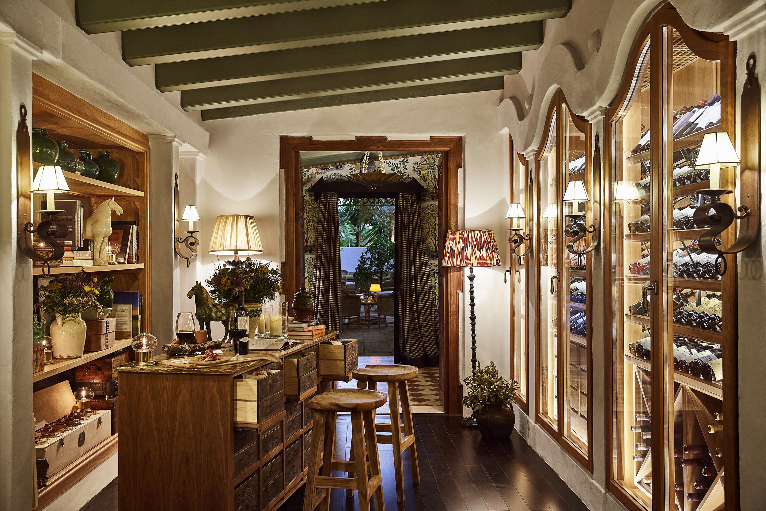 La Bodega shop at Marbella Club Hotel