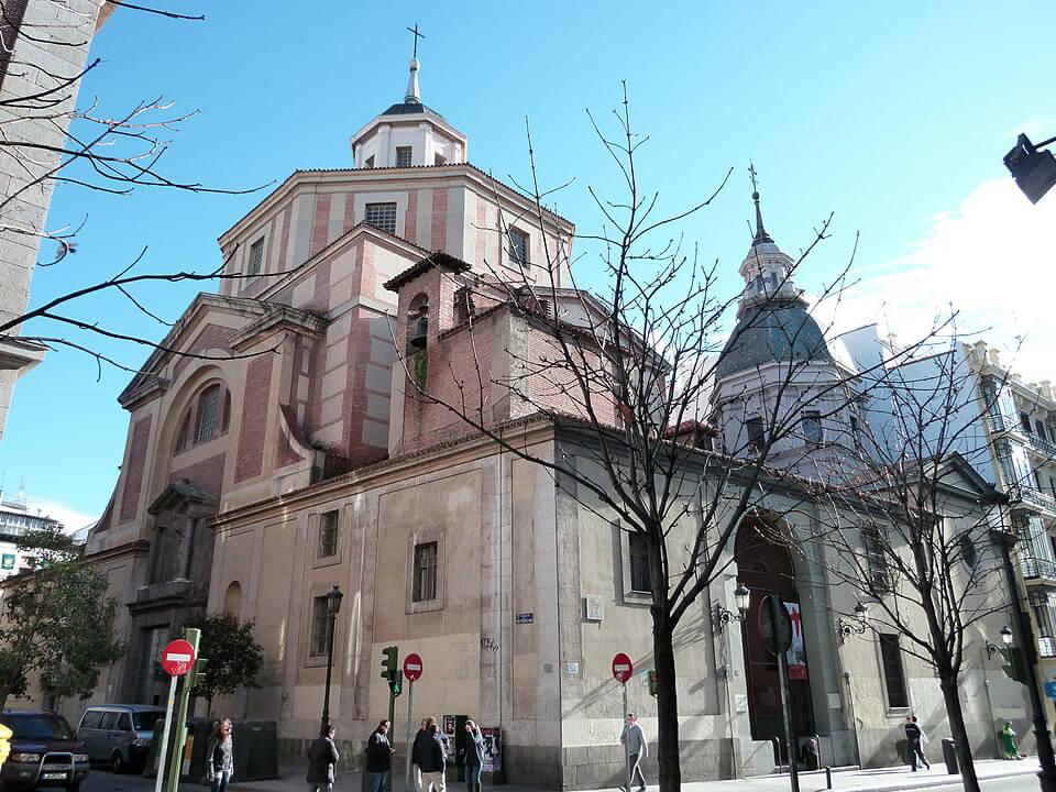 Barrio de las Letras de Madrid Iglesia de San Sebastián