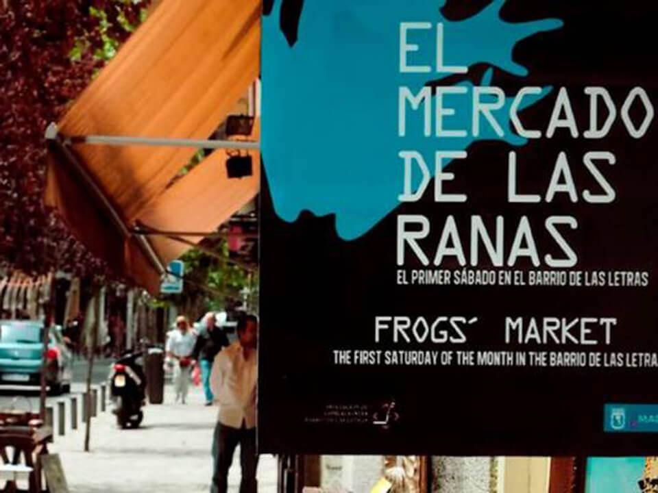 Barrio de las Letras de Madrid Mercado de las Ranas