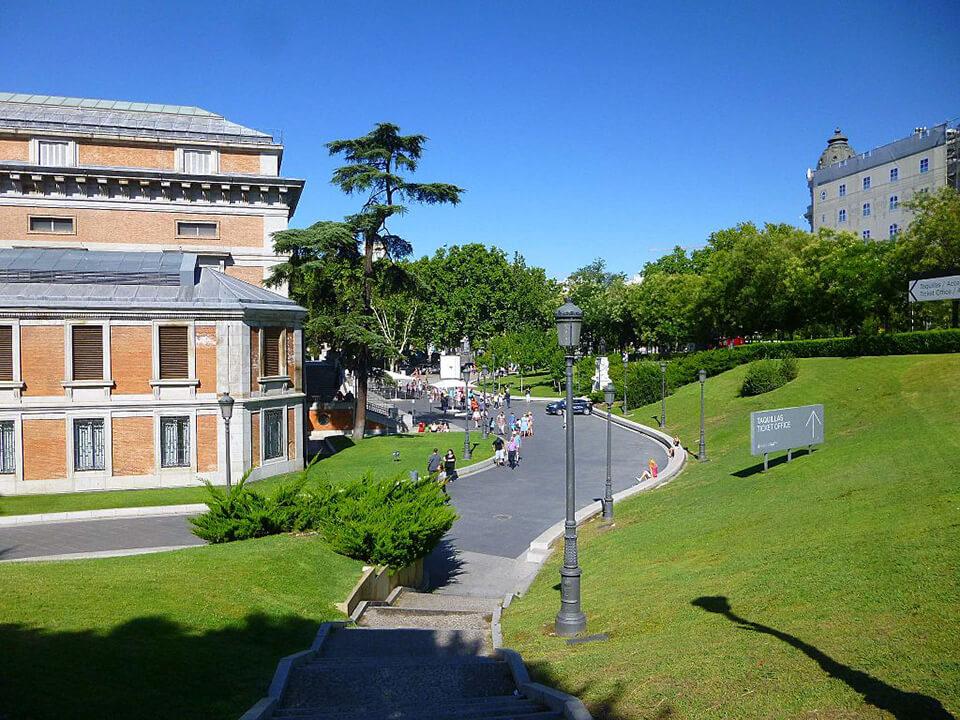 Barrio de las Letras de Madrid Museo del Prado