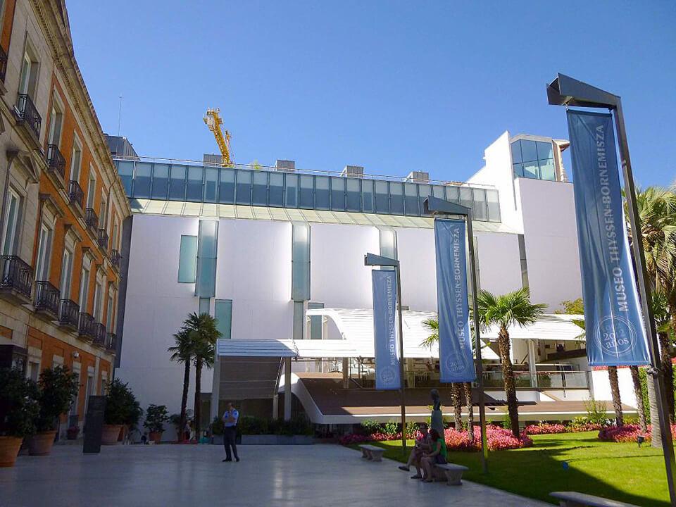 Barrio de las Letras de Madrid Museo Thyssen-Bornemisza