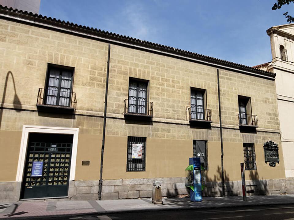 Barrio de las Letras de Madrid Sociedad Cervantina
