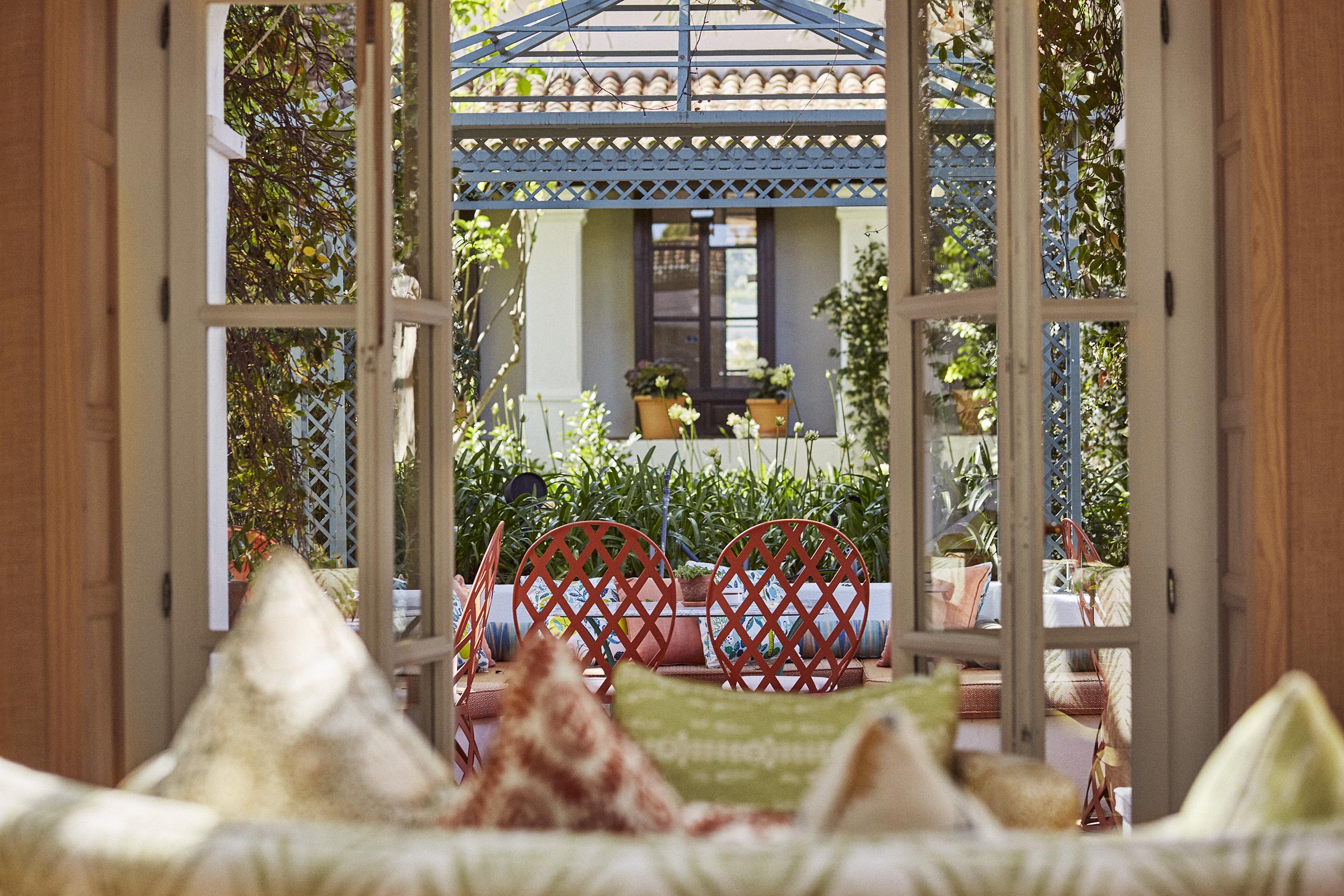 El Patio restaurant at the Marbella Club Hotel