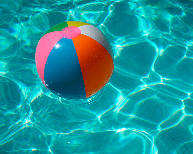 A mollo in piscina