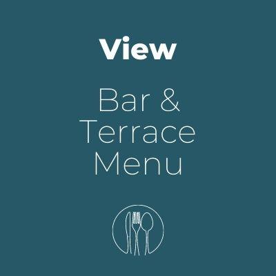 Bar & Terrace menu at The Cornwall Hotel