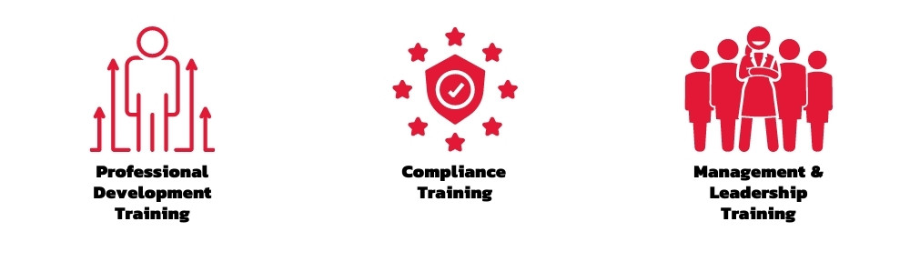 Professional Development, Compliance and Management & Leadership Training