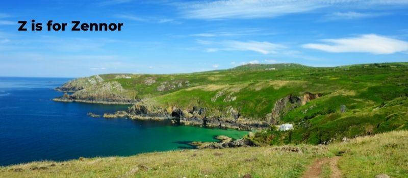 Zennor coastline Cornwall
