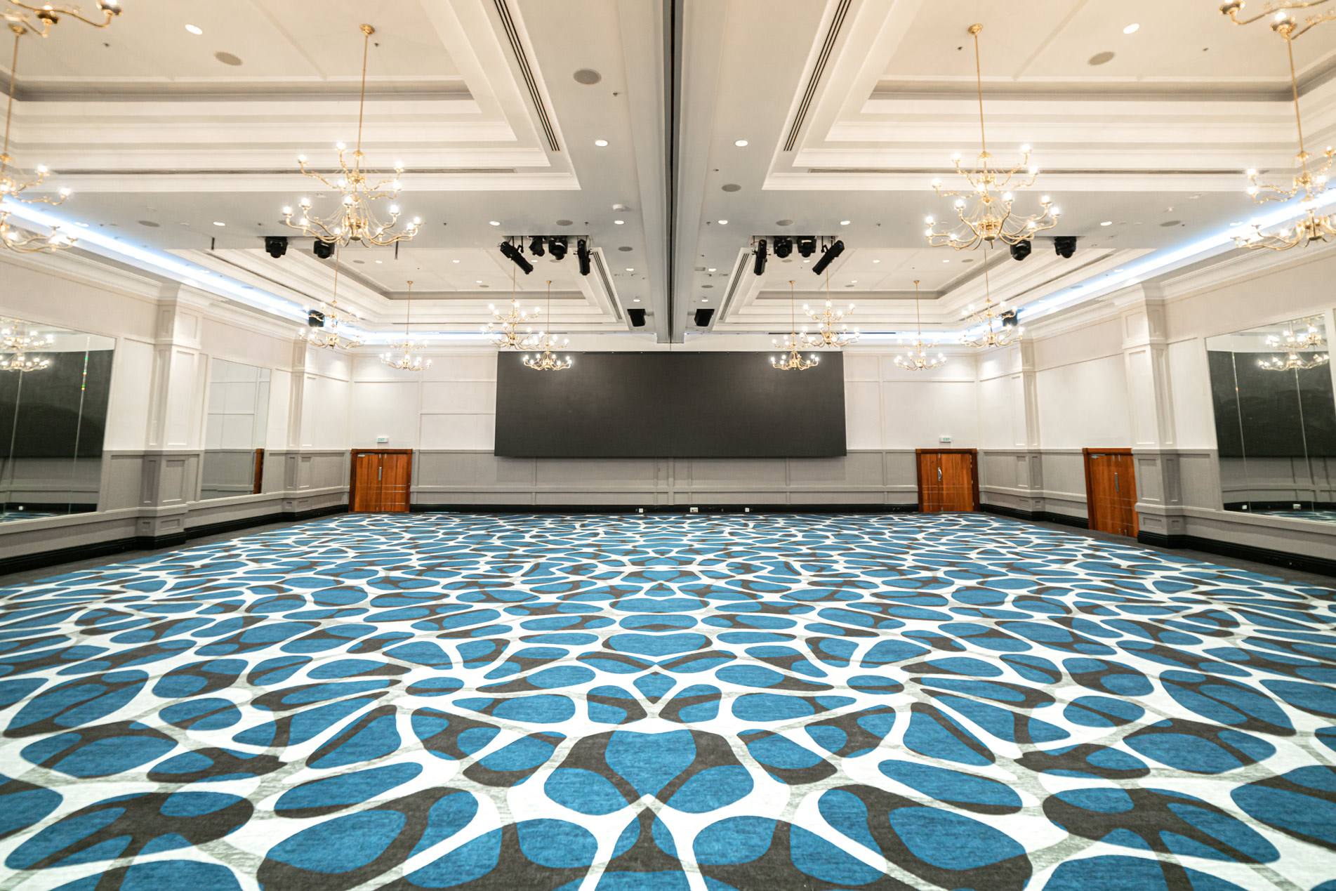 refurbished grand ballroom at Pullman Cairns International