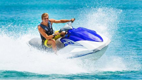 Jet Skiing near The Diplomat Beach Resort, South FL