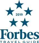 Forbes' five star rating logo - 2019