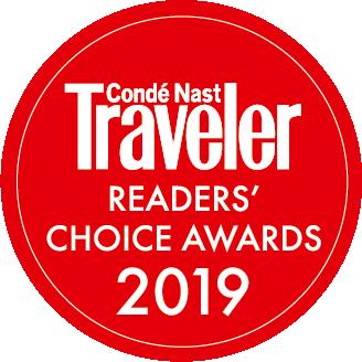 Conde Nast Traveler Readers' Choice Awards 2019