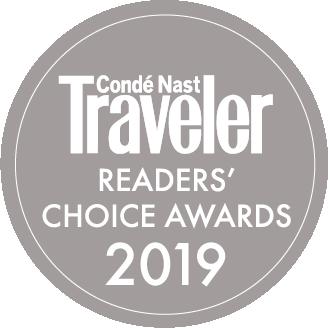 Conde Naste 2019 Reader's Choice Award