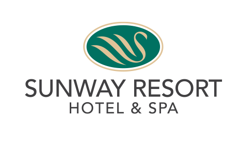 Sunway Resort Hotel & Spa logo in black