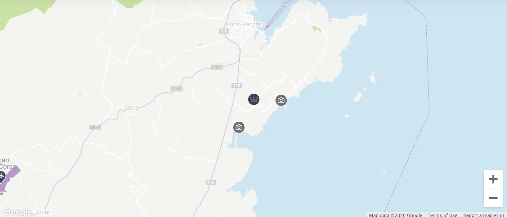 Map Location Roc e Fiori