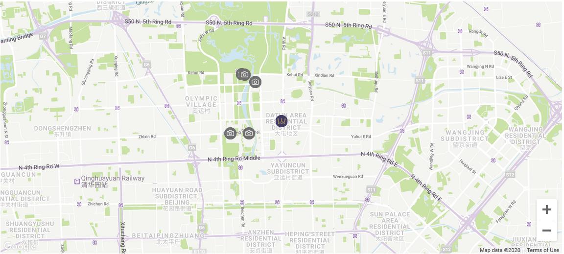 Map Location Celebrity International Grand Hotel