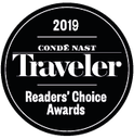 2019 Conde Nast Traveler Reader's Choice Awards