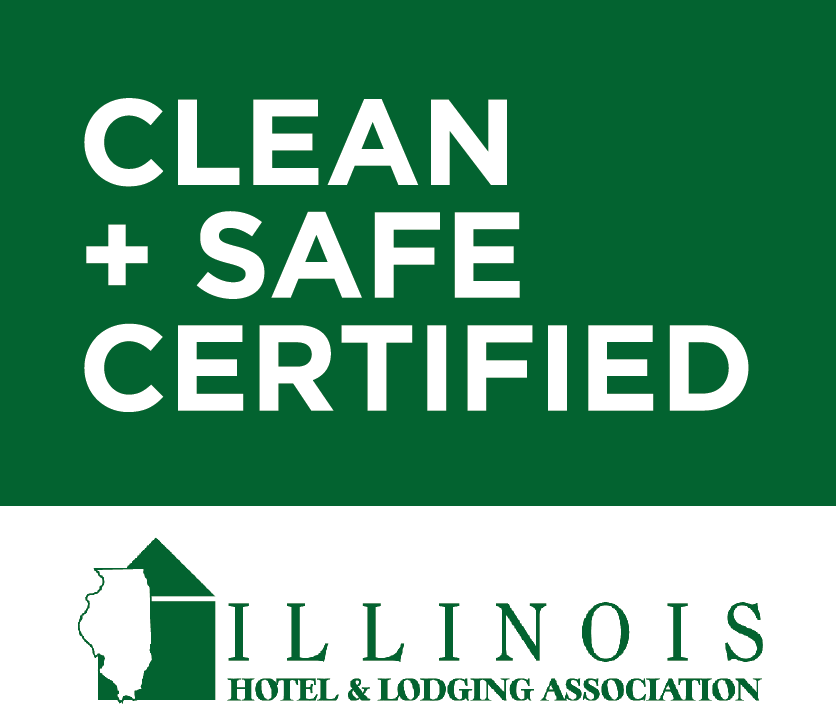 clean and safe certified logo