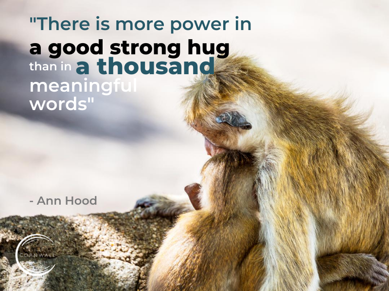 simple ways to boost your mood with a hug