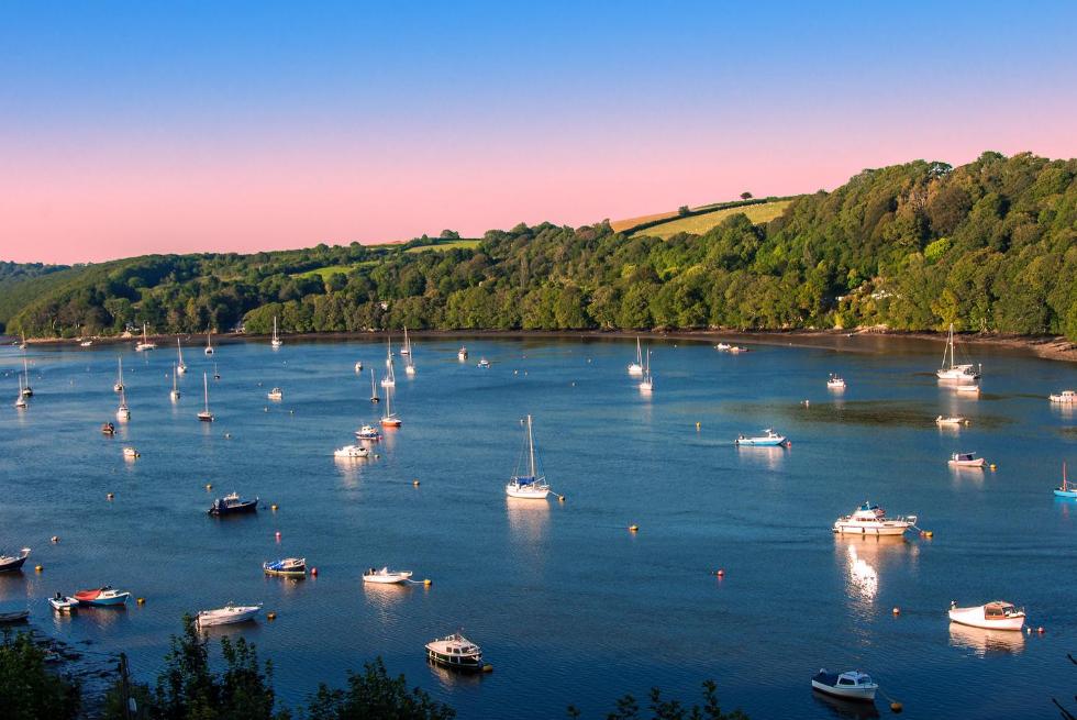 Fowey Estuary Cornwall