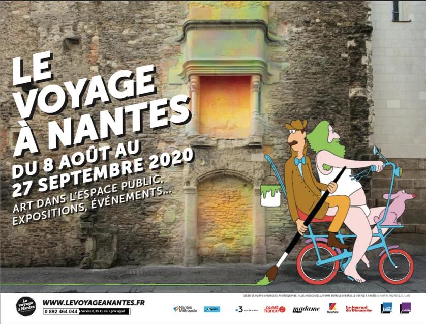 Le voyage à Nantes du 8 août au 27 septembre 2020