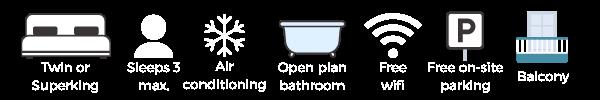 superior rooms facilities at The Cornwall