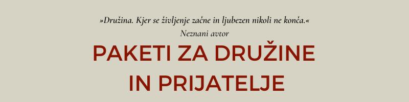 Turistični boni Ljubljana | Paketi za družine, prijatelje