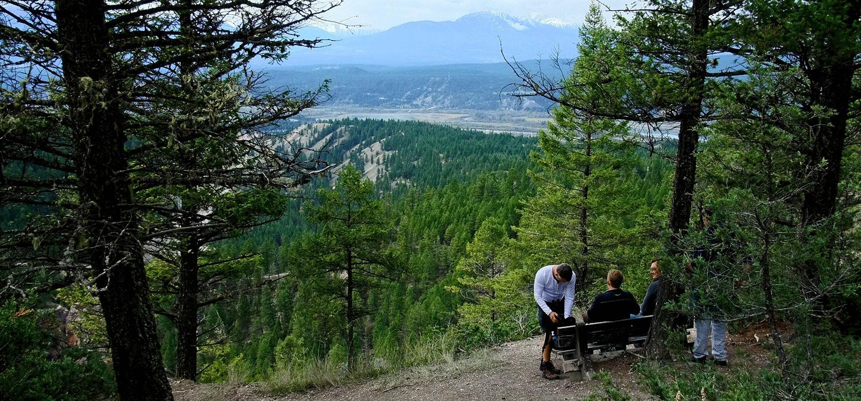 Hiking trails in Revelstoke