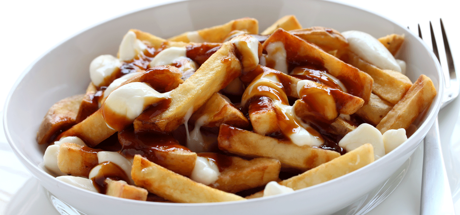 experience Canadian food - Poutine