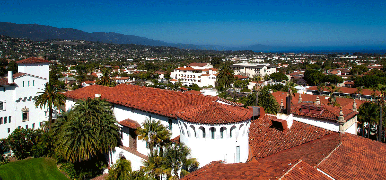 great landmarks - Santa Barbara Courthouse