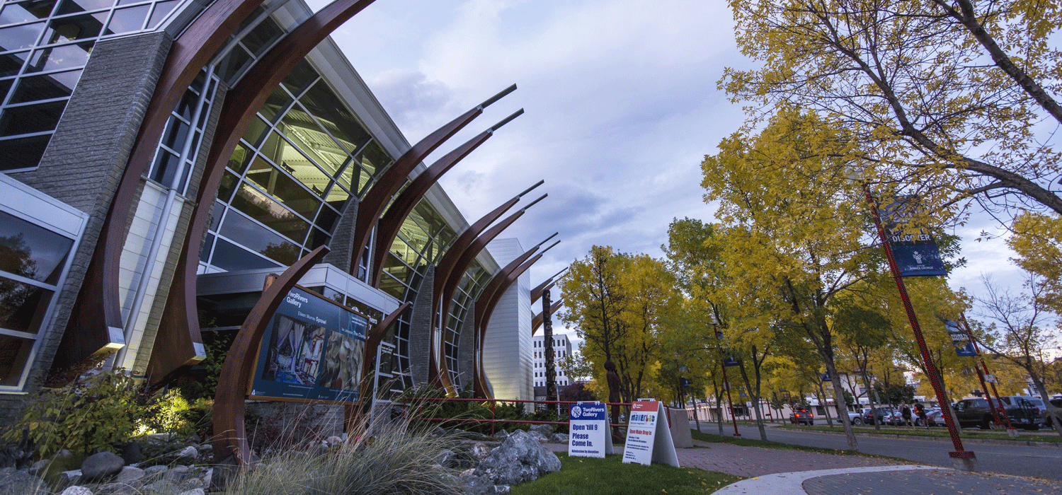 Two Rivers Gallery in Prince George