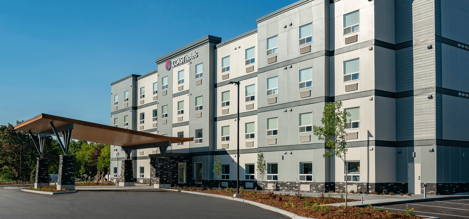 exterior view of Coast Oliver Hotel