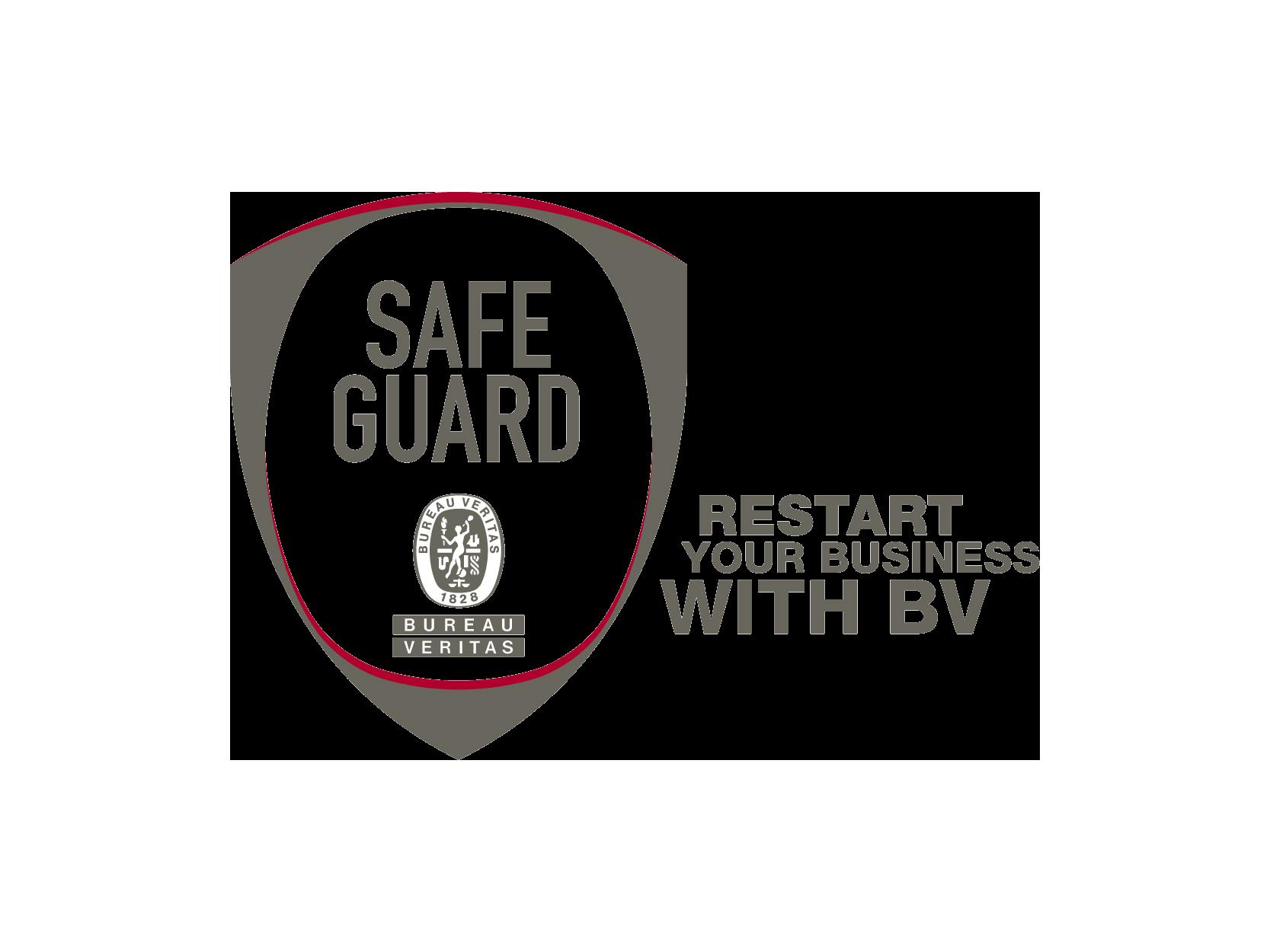 Restart Your Business Safeguard Logo Bureau Veritas