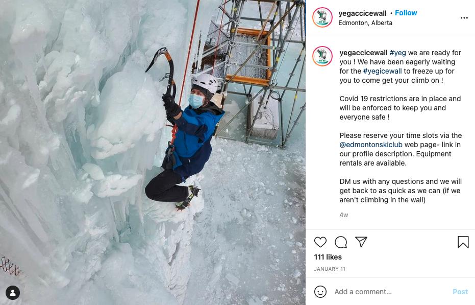 YEG ACC Ice Wall