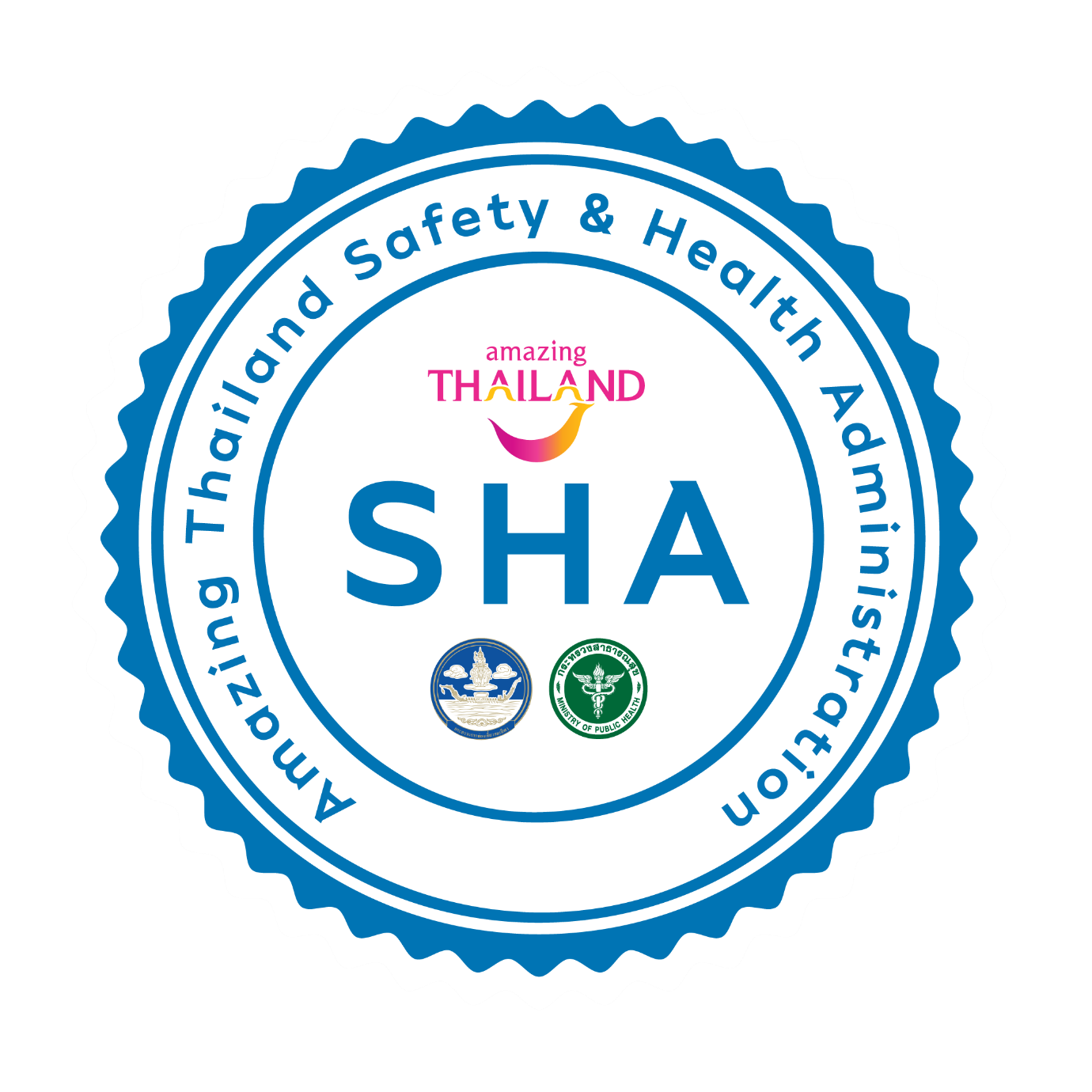 Amazing Thailand Safety Health & Administration certificate logo